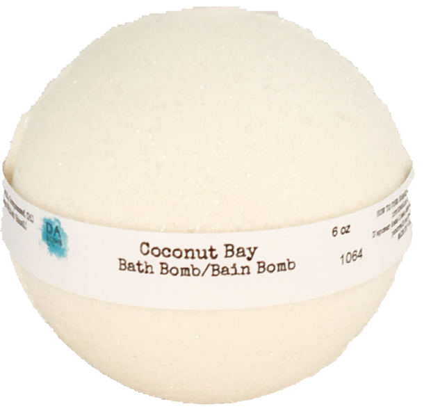 Coconut Bay 6oz Bath Bomb