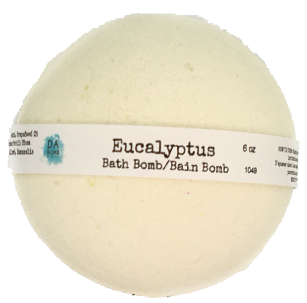 Eucalyptus 6oz Essential Oil Bath Bomb