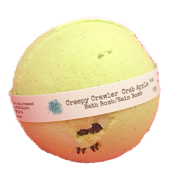 Creepy Crawler Crap Apple 6oz Bath Bomb