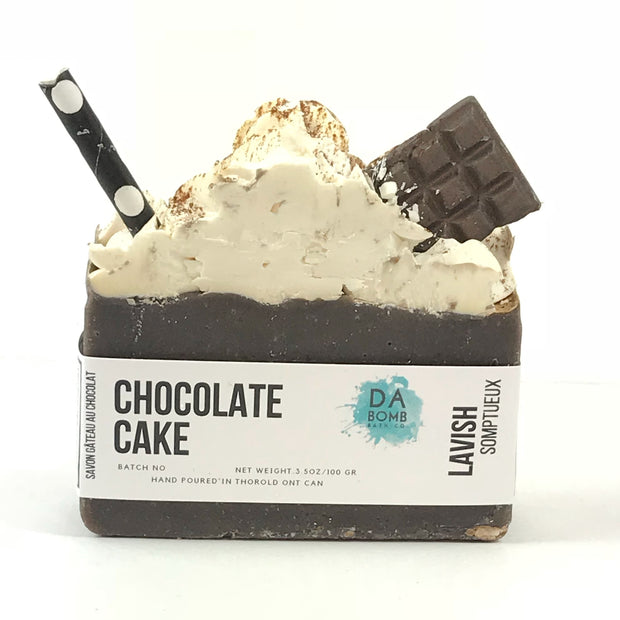Chocolate Cake Cold Press Soap