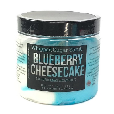 Blueberry Cheesecake Whipped Sugar Scrub
