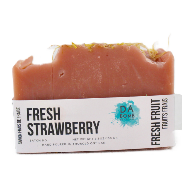 Fresh Strawberry Cold Press Soap