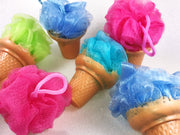 Ice Cream Loofah Soap on a Rope