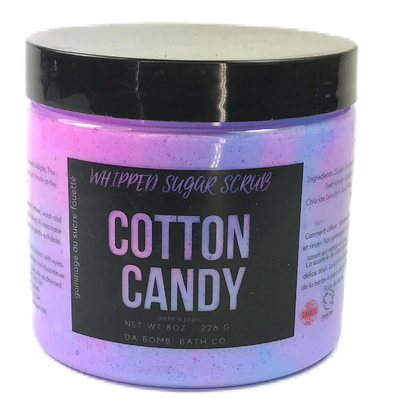 Cotton Candy Whipped Sugar Scrub