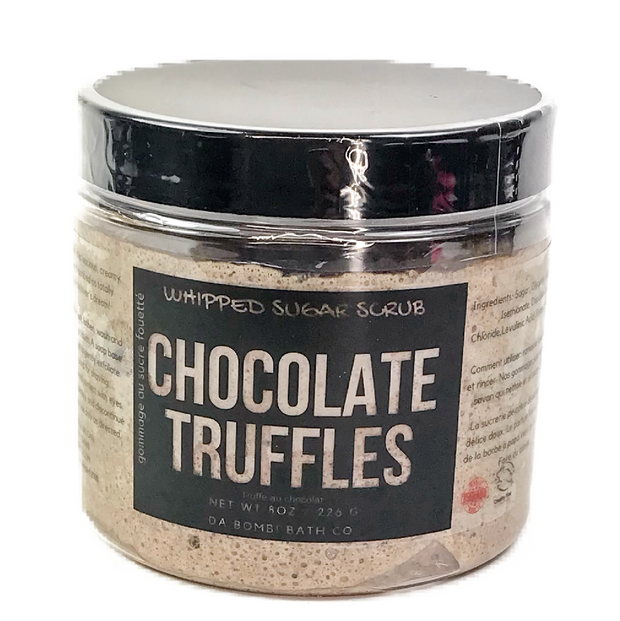 Chocolate Truffles Whipped Sugar Scrub