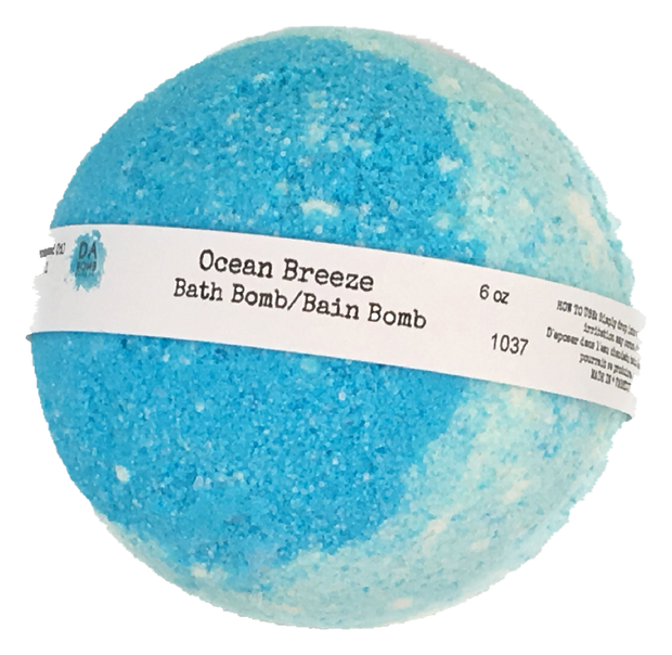 Ocean Breeze 6oz Bath Bomb