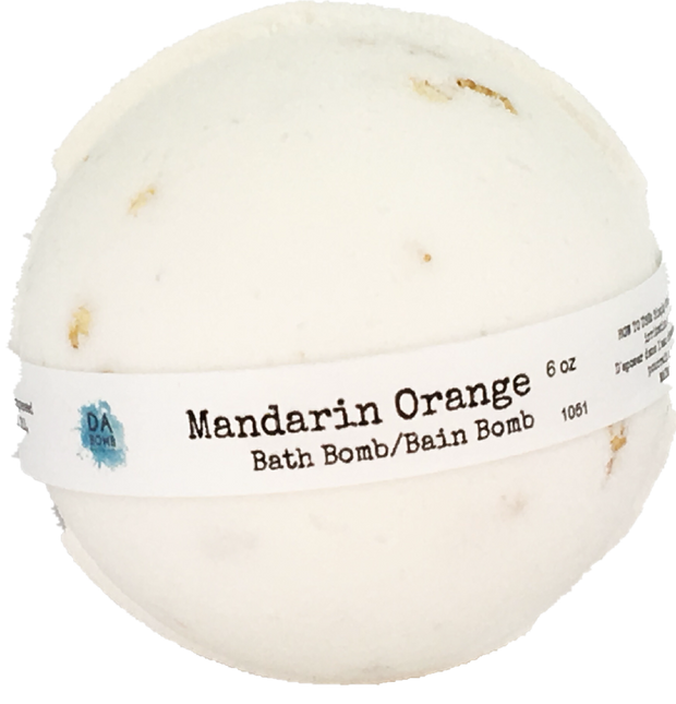 Mandarin 6oz Essential Oil Bath Bomb