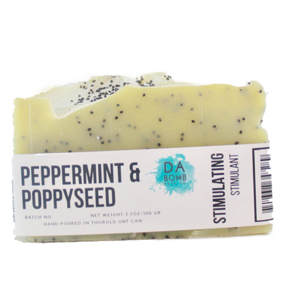 Peppermint & Poppyseed Cold Press Soap