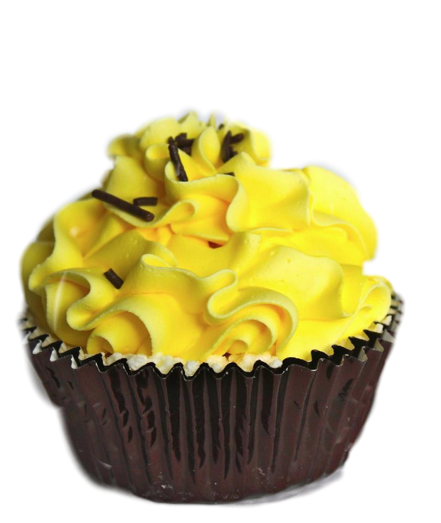 Banana Cream Pie Cupcake Bath Bomb