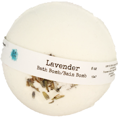 Lavender 6oz Essential Oil Bath Bomb