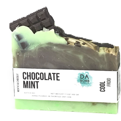 Chocolate Mint Cold Press Soap