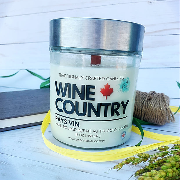 Wine Country   Soy Candle - 15 oz