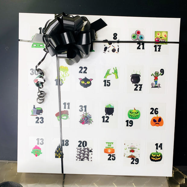 Count Down to Halloween Calendar
