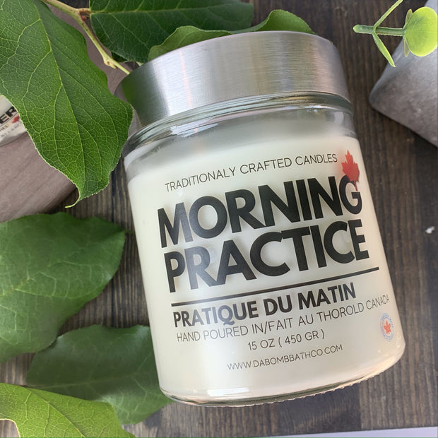 Morning Practice  Soy Candle - 15 oz
