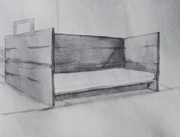 Marie Shannon Arena Daybed I, 2001/02