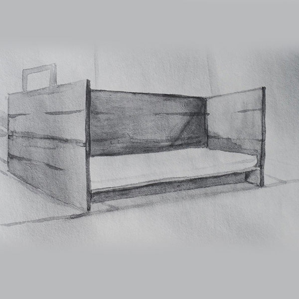 Marie Shannon Arena Daybed I, 2001/02 crop