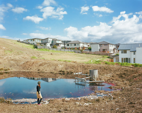 Chris Corson-Scott Bulldozed Farmland in Albany, 2014