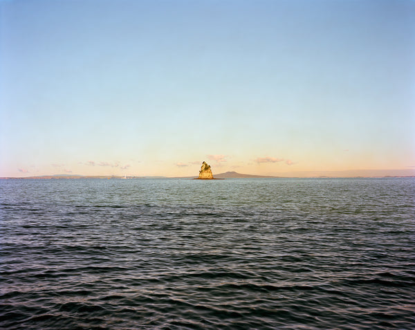 Chris Corson-Scott Kotanui Island and Rangitoto (After John Kinder), 2013