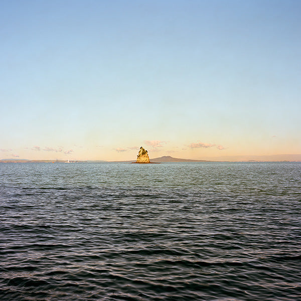Chris Corson-Scott Kotanui Island and Rangitoto (After John Kinder), 2013 crop