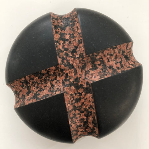 John Edgar Core, 2018, Granite (India) from above