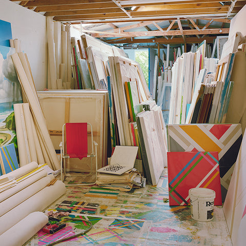 Chris Corson-Scott My Father's Studio, Three Months After His Death From Cancer, 2013 crop