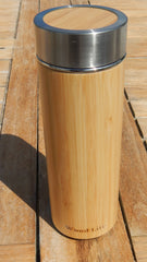 Thermal Bottle - Bamboo wood