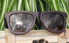 Ibex Ebony (black, brown or blue reflective lens)