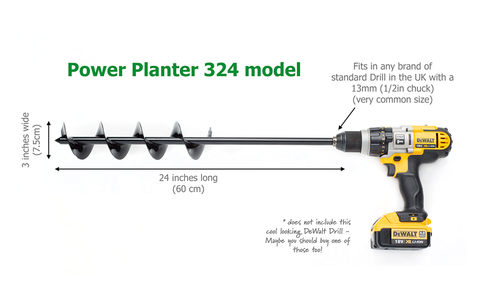 Power Planter 324h model - The longer one for use when standing.