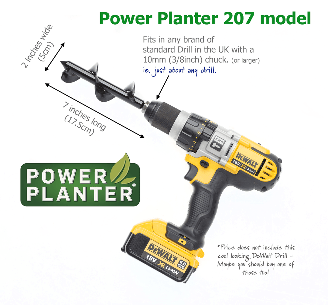 Power Planter 207 model for planting seedlings and bulbs.