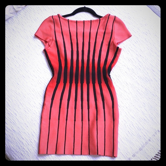 Herve Leger body con dress