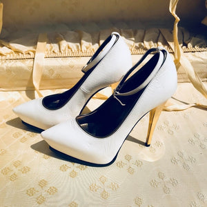 Special edition 2013 White Lanvin Italy High Heels