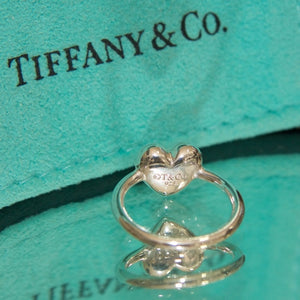 Rare Tiffany & Co Stunning Heart Ring