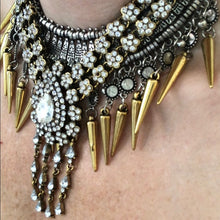 Eye catching statement necklace