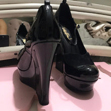 YSL Black Gorgeous High Platform