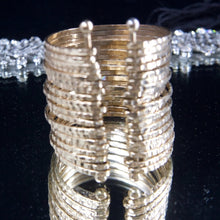 My 18kt Gold Plated Connected Bracelet Stack