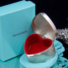 My Rare Vintage Tiffany & Co Red Heart Silver Box