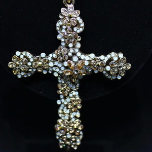 My 18kt Gold Plated Special Cross (Roberto Cavalli)