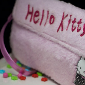 My Vintage Hello Kitty Pink Bag 13X6 Inches