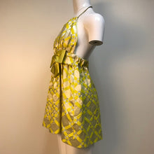 Shareen Again bright yellow baby doll dress