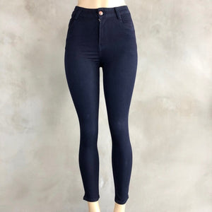The Ultimate High Rise Fall Navy Blue Tushi Jean