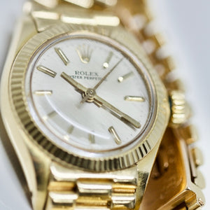 Rolex Ladies Date Just President 18K Gold 26MM