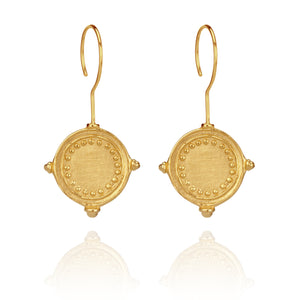Temple of the Sun Sura earring Gold