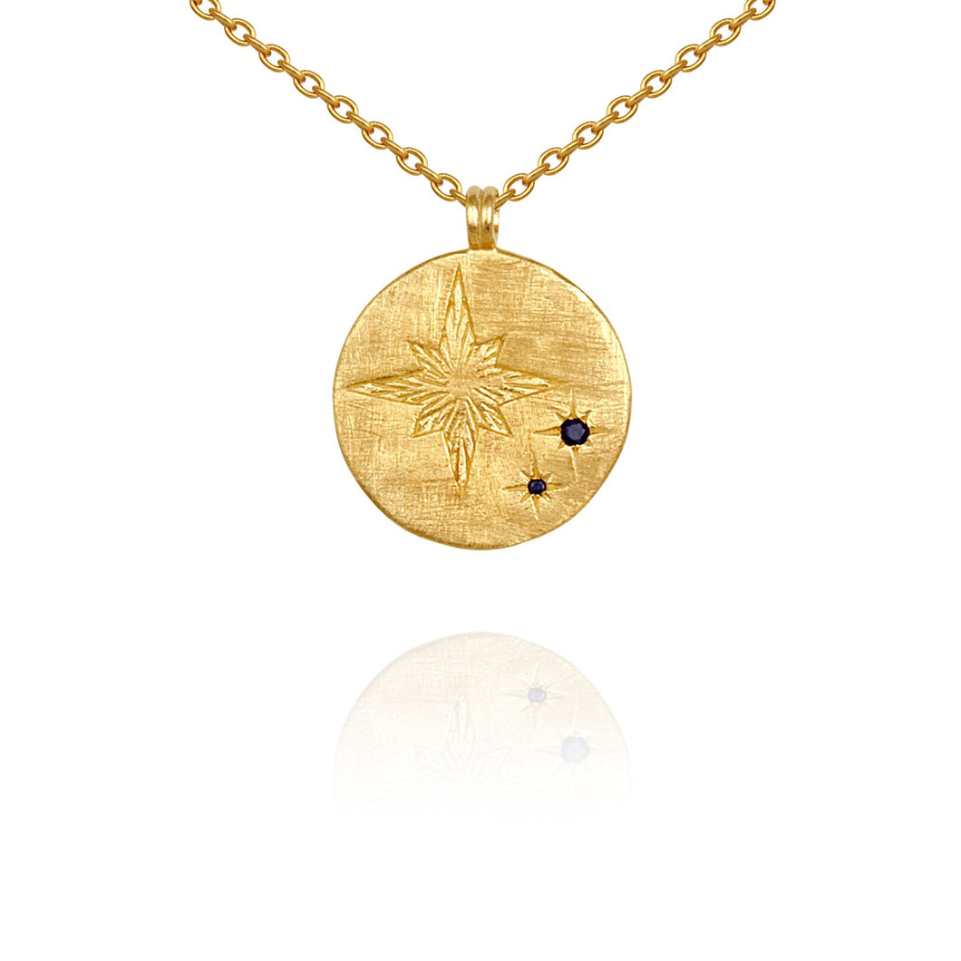 Temple of the Sun Celina Necklace Gold