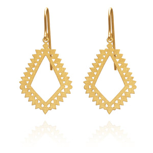 Temple of the Sun Mila Earring Gold