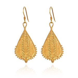 Temple of the Sun Rahda earrings gold
