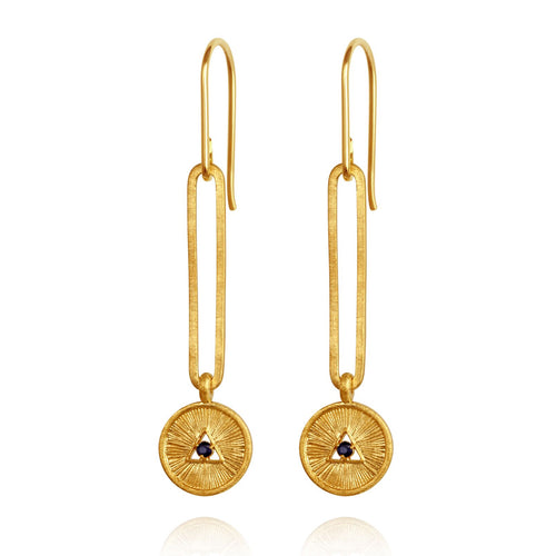Temple of the sun Estelle earrings gold.