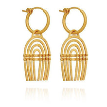 Temple of the Sun Baye earrings gold
