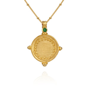 Temple of the Sun Sura necklace gold