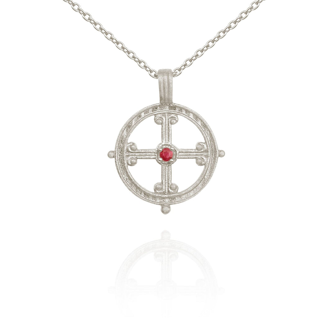 Temple of the Sun Vera necklace silver