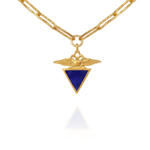 Temple Of The Sun Empire Necklace Gold